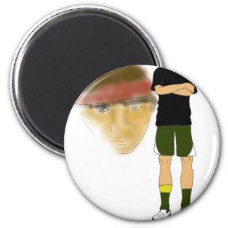 Own it 6 cm round magnet