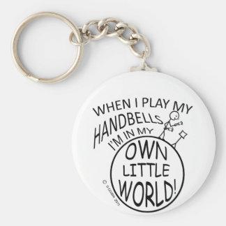 Own Little World Handbells Keychains