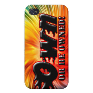 OWN OR BE OWNED iPhone 4 COVERS