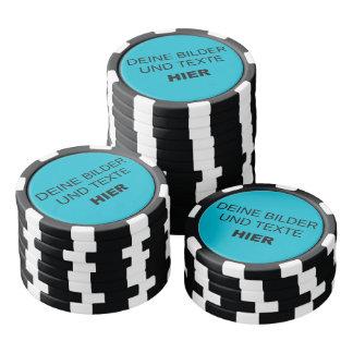 Own poker chips arrange - own draft
