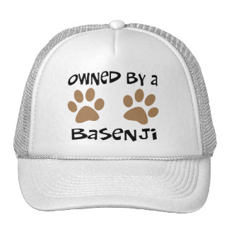 Owned By A Basenji Trucker Hats