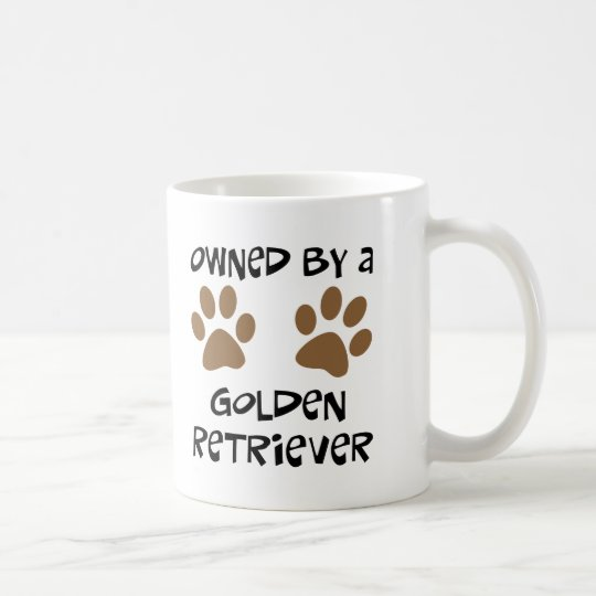 Owned By A Golden Retriever Coffee Mug