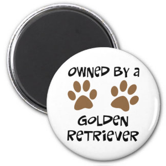 Owned By A Golden Retriever Magnet