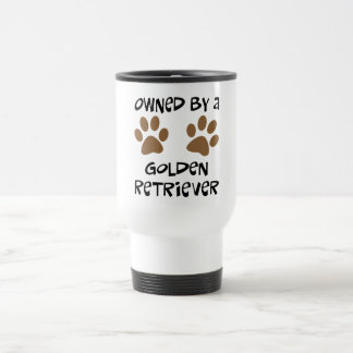 Owned By A Golden Retriever Travel Mug