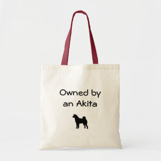 Owned by an Akita Bag