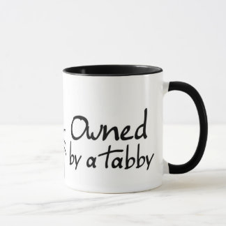 owned tabby mug