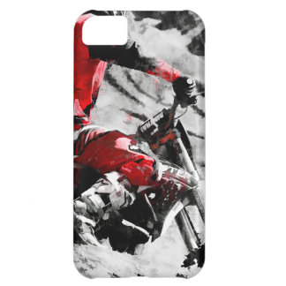 Owning The Mountain  -  Motocross Dirt-Bike Racer iPhone 5C Case