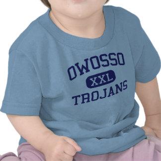 Owosso - Trojans - High School - Owosso Michigan Tee Shirt