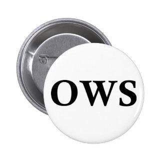 OWS 6 CM ROUND BADGE