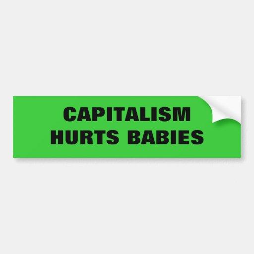 #OWS CAPITALISM SUCKS BUMPER STICKERS