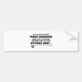 Owyhee Bob Cat breed designs Bumper Stickers