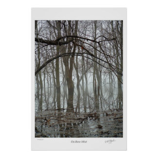 Ox-Bow Mist Poster