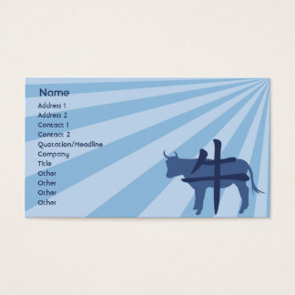 Ox - Business Business Card