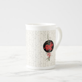 Ox (chinese zodiac) bone china mug