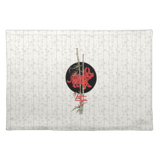 Ox (chinese zodiac) placemat