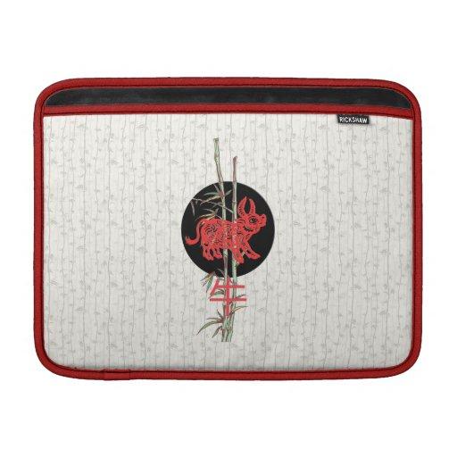 Ox (chinese zodiac) MacBook air sleeves