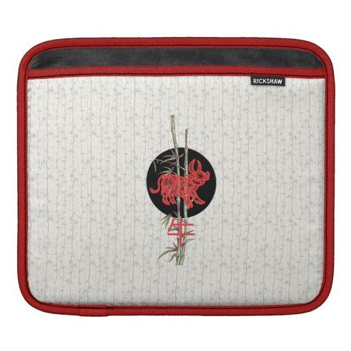 Ox (chinese zodiac) iPad sleeve