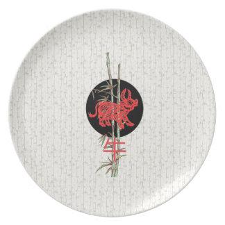 Ox (chinese zodiac) plate