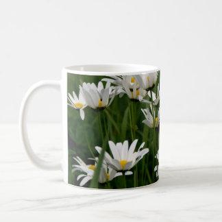 Ox-eye daisy coffee mug