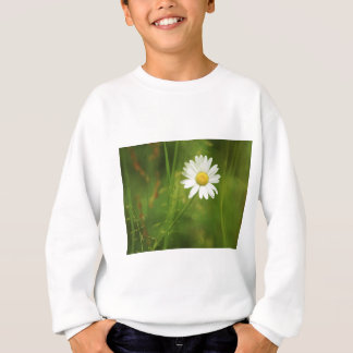Ox-Eye Daisy Summertime Design Sweatshirt