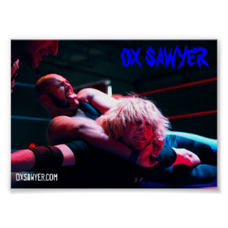 "Ox Sawyer ""Tripp Taps Out"" Poster"