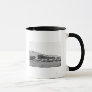 Ox Trains between Sturgis and Deadwood Photograp Mug