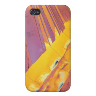 Oxalic Acid Crystals Cases For iPhone 4