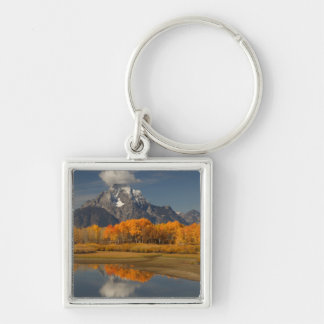 oxbow bend in fall colors key chains
