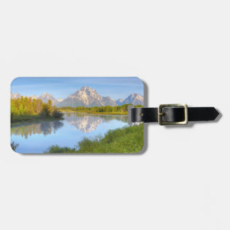 Oxbow Bend Luggage Tag