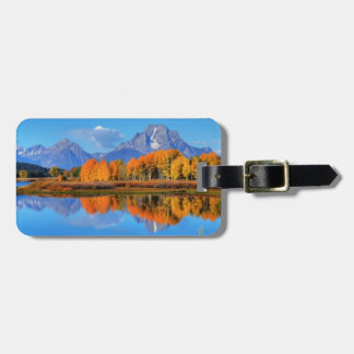 Oxbow Bend Sunrise Luggage Tag