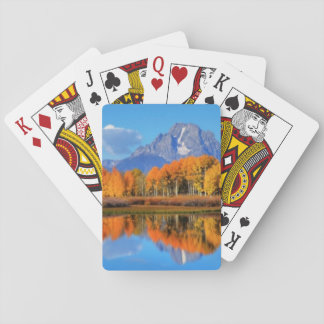 Oxbow Bend Sunrise Playing Cards