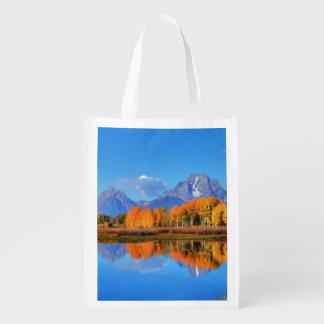 Oxbow Bend Sunrise Reusable Grocery Bag
