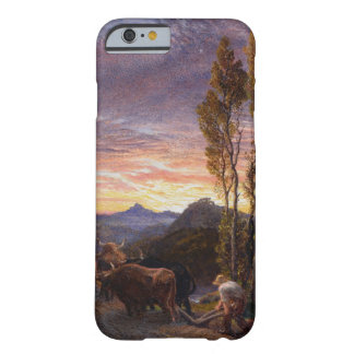 Oxen Ploughing at Sunset (w/c on paper) Barely There iPhone 6 Case