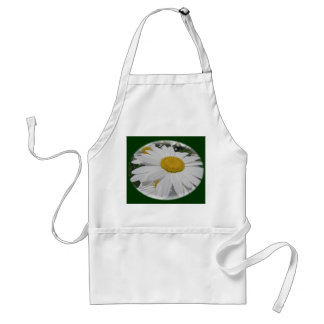 Oxeye Daisy Wildflower Floral Items Standard Apron