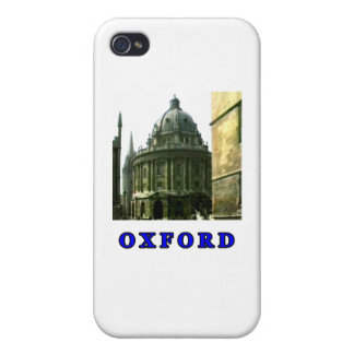 Oxford 1986 snapshot 143 Blue The MUSEUM Zazzle Gi Cases For iPhone 4