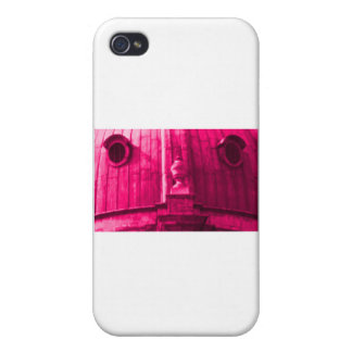 Oxford 1986 snapshot 163 Magenta The MUSEUM Zazzle Case For iPhone 4