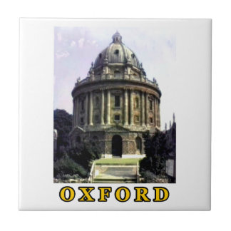 Oxford 1986 snapshot 198 Gold The MUSEUM Zazzle Small Square Tile