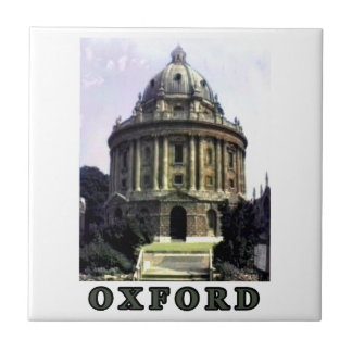 Oxford 1986 snapshot 198 Gray The MUSEUM Zazzle Small Square Tile