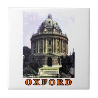 Oxford 1986 snapshot 198 Orange The MUSEUM Zazzle Small Square Tile