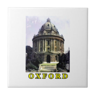 Oxford 1986 snapshot 198 Yellow The MUSEUM Zazzle  Small Square Tile