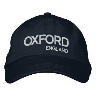 Oxford* Adjustable Hat Embroidered Baseball Caps