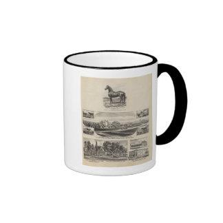 Oxford and Abilene Residences Kansas Coffee Mugs