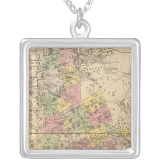Oxford Co, Maine Silver Plated Necklace