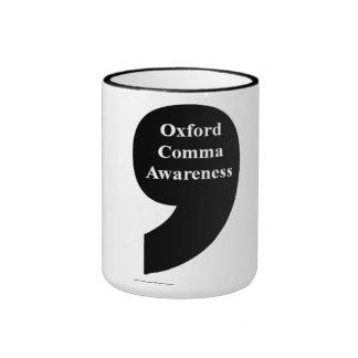 Oxford Comma Awareness Mug