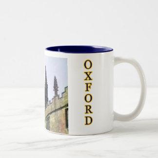 Oxford England 1986 Building Spirals 1 Mug