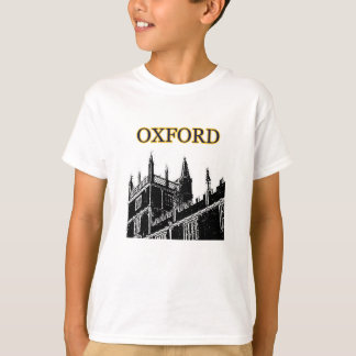 Oxford England 1986 Building Spirals Black jGibney T-Shirt