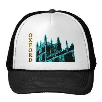 Oxford England 1986 Building Spirals Cyan Cap
