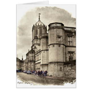 Oxford, England Card