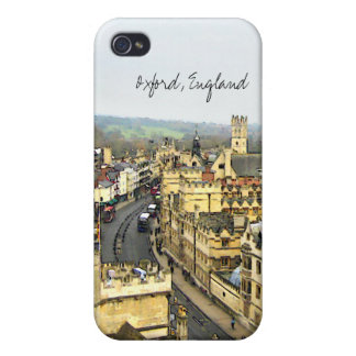 Oxford, England, High St View iPhone 4/4S Cases