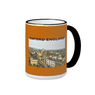 Oxford, England, High St View Ringer Mug